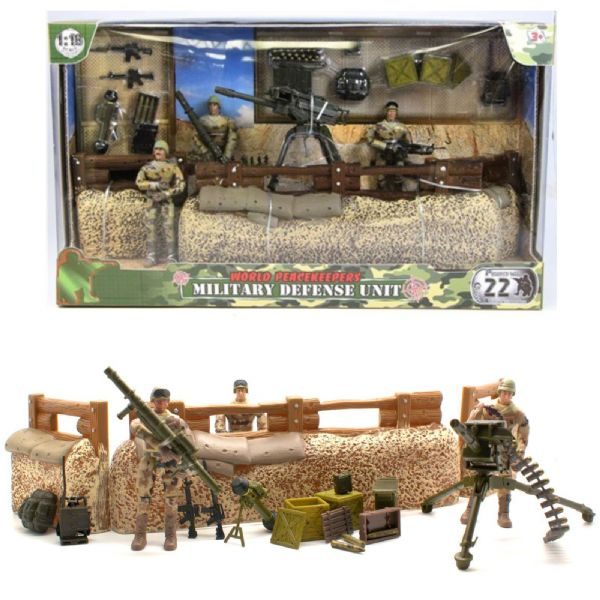 World PeaceKeepers Military Defence Unit Toy Playset
